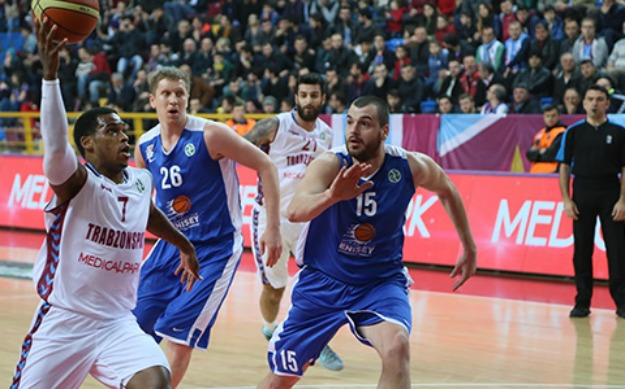 TRABZONSPOR 90 - 85 Enisey